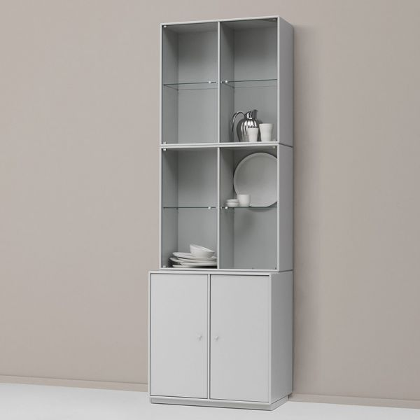 Montana Selection Rise Cabinet With Glass Doors