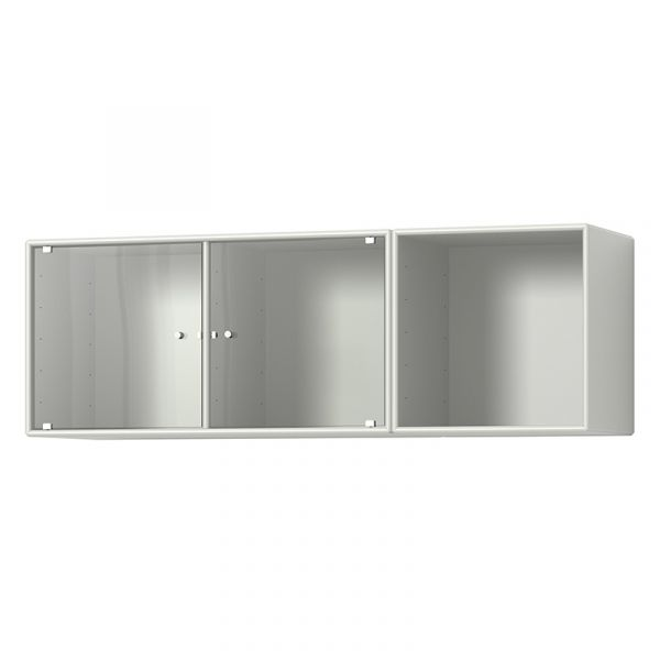 Montana Selection Spice Cabinet With Glass Doors
