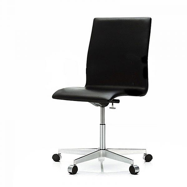 Fritz Hansen 3191C Oxford Classic Chair Low Back Height Adjustable