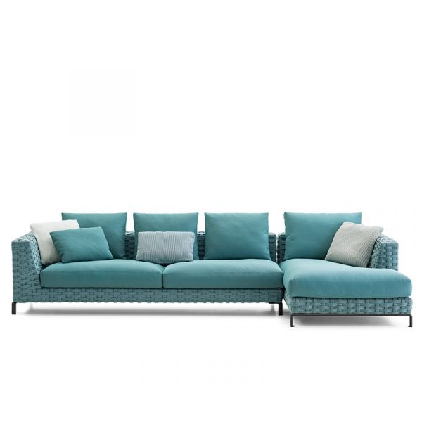 B&B Italia Ray Outdoor Sofa Configuration 01 Fabric