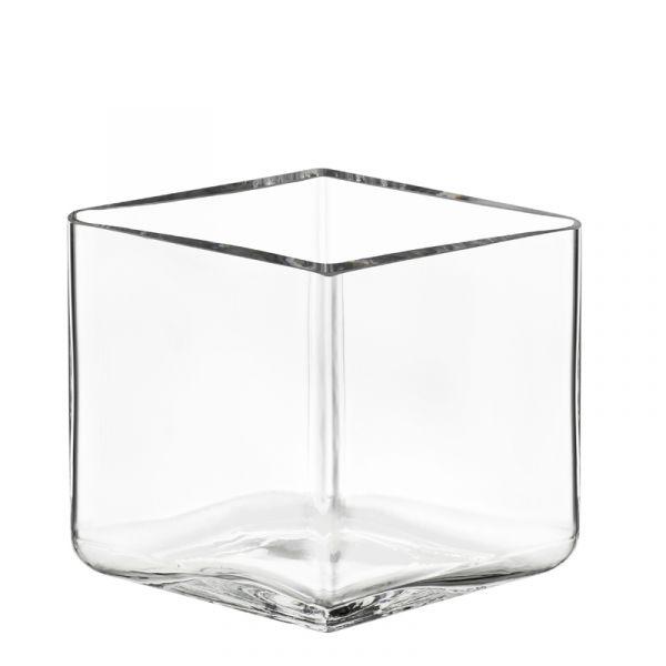 iittala Ruutu Vase 115x80mm Clear Discontinued Last One Was £75 Now £55