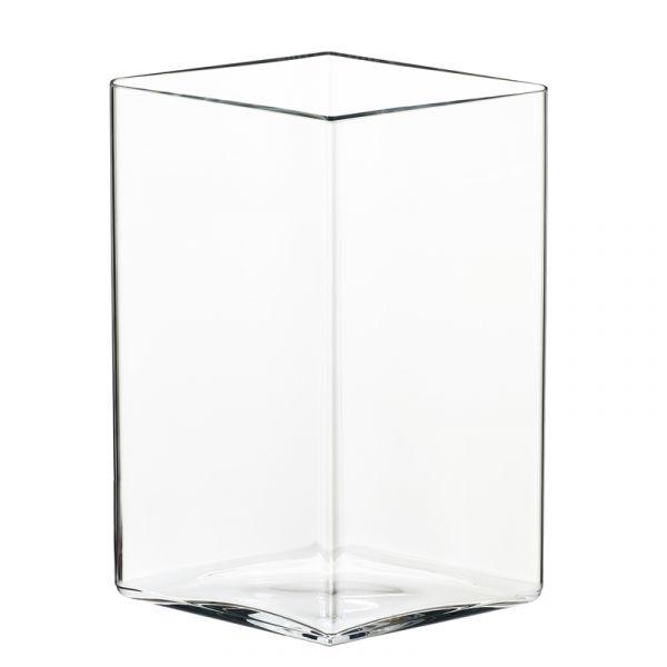 iittala Ruutu Vase 205x270mm Clear