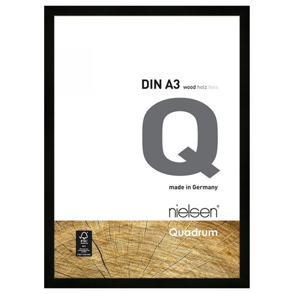 Nielsen Quadrum Wood Frame A3 Black