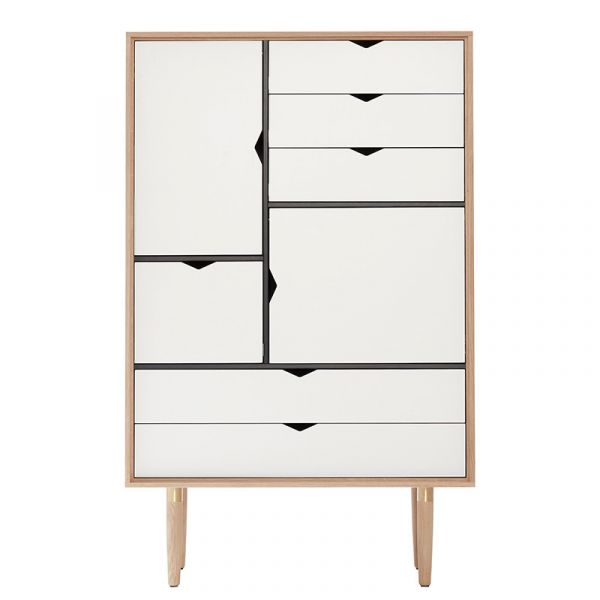 Andersen S5 Storage White Doors/Drawers