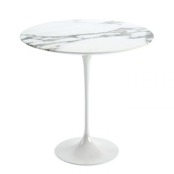 Knoll Saarinen Side Table 51cm White Base