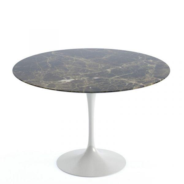 Knoll Saarinen Round Dining Table 107cm White Base