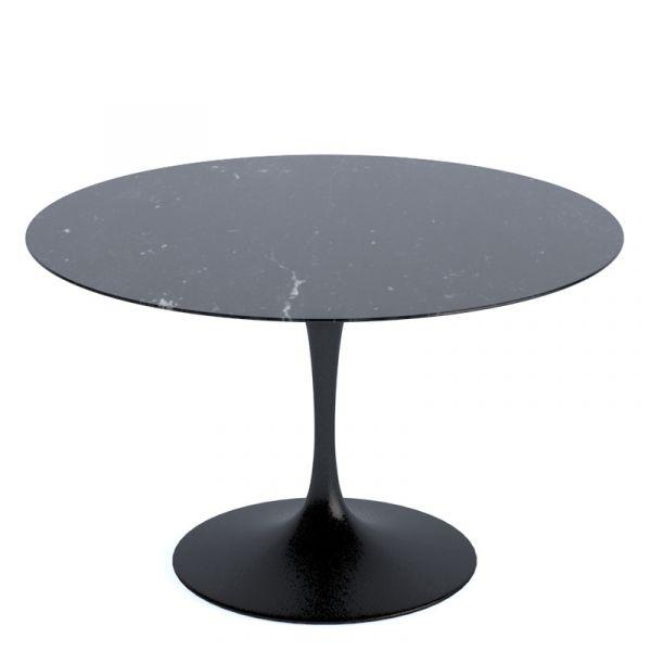 Knoll Saarinen Round Dining Table 120cm Black Base