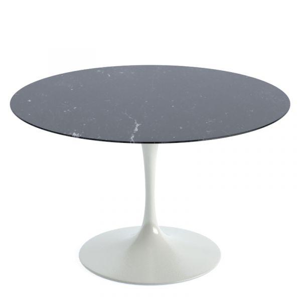 Knoll Saarinen Round Dining Table 120cm White Base