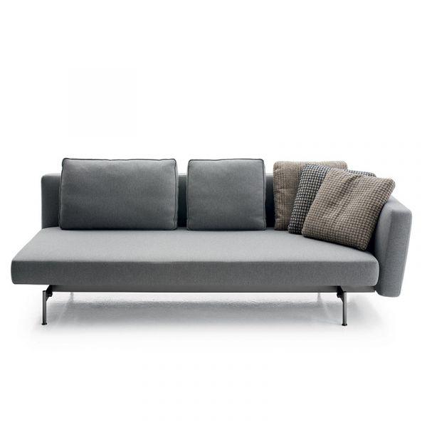 B&B Italia LSK223D Sake Sofa Bed With Right Armrest