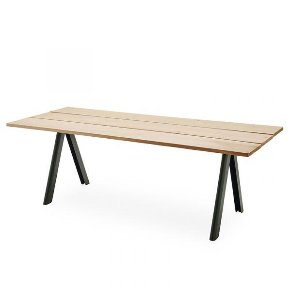 Skagerak Overlap Table 220x90cm Hunter Green