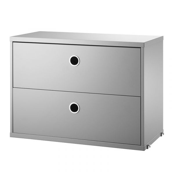 String System Chest Of Drawers 58x30cm