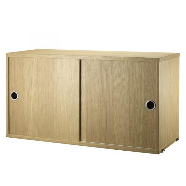 String System Cabinet 78x30cm Oak