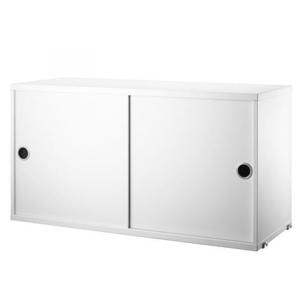 String System Cabinet 78x30cm White