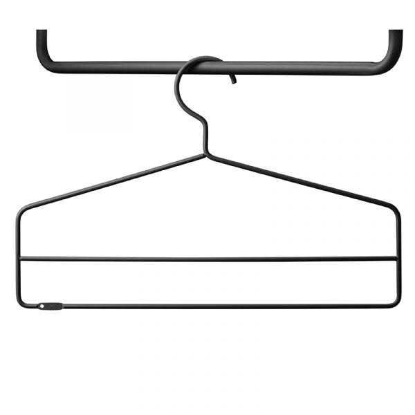 String Coater Hangers x4 Black