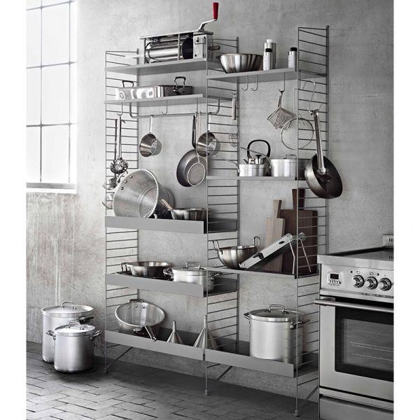 String Shelving System Kitchen 01
