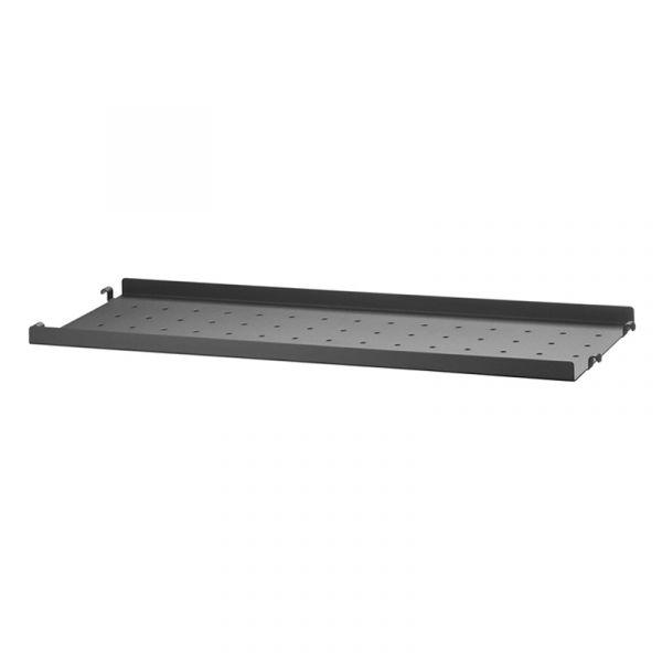 String System Metal Shelf Low Edge 58x20