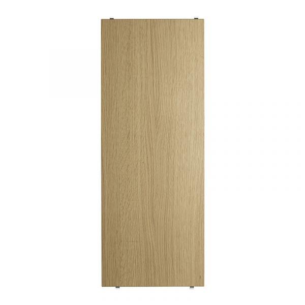 String System Shelves 3 Pack 78x30 Oak