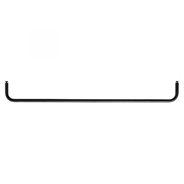 String + Rod for Metal Shelf 78cm Black