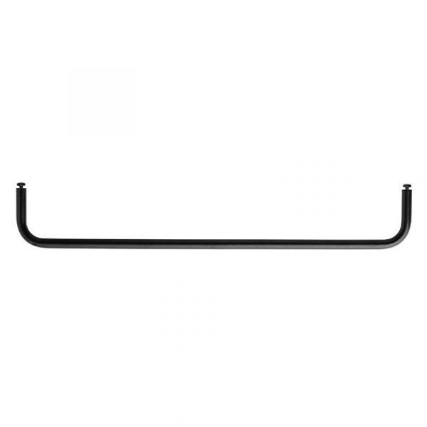 String + Rod for Metal Shelf 58cm Black