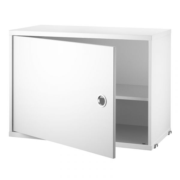 String System Cabinet With Swing Door 58x30cm