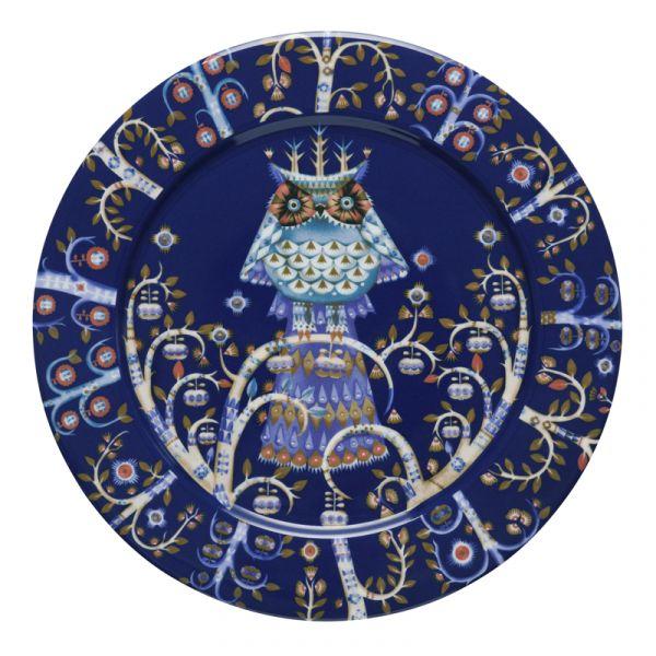 iittala Taika Plate x6 Blue 27cm