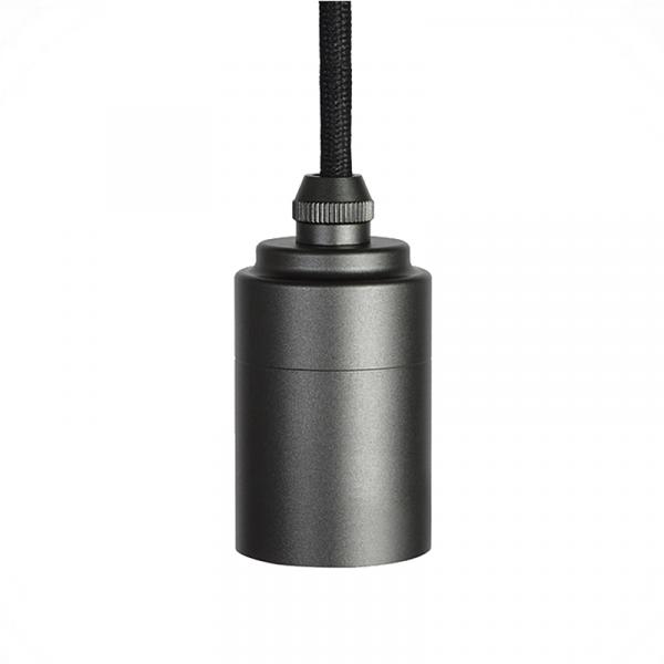 Tala Graphite Pendant Fitting E27 Anodized Aluminium