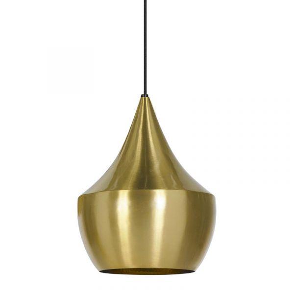 Tom Dixon Beat Fat LED Pendant Light Brass