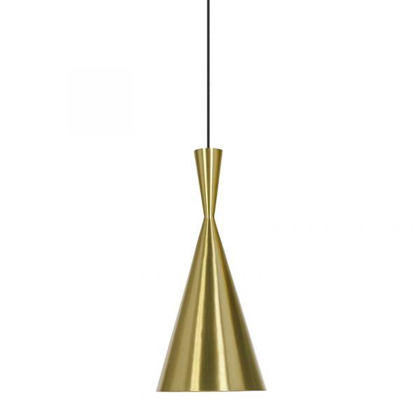 Tom Dixon Beat Tall LED Pendant Light Brass