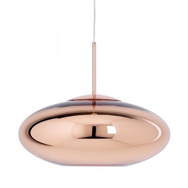 Tom Dixon Copper Wide LED Pendant Light