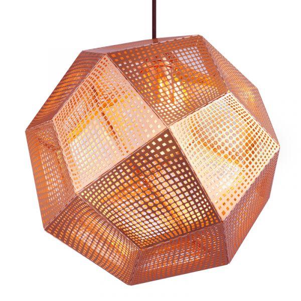 Tom Dixon Etch Pendant Light Copper