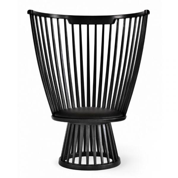 Tom Dixon Fan Chair Black