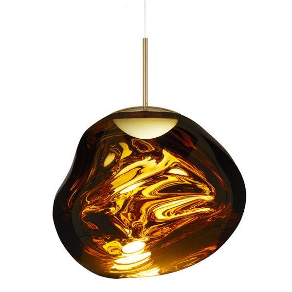 Tom Dixon Melt LED Pendant Light Gold