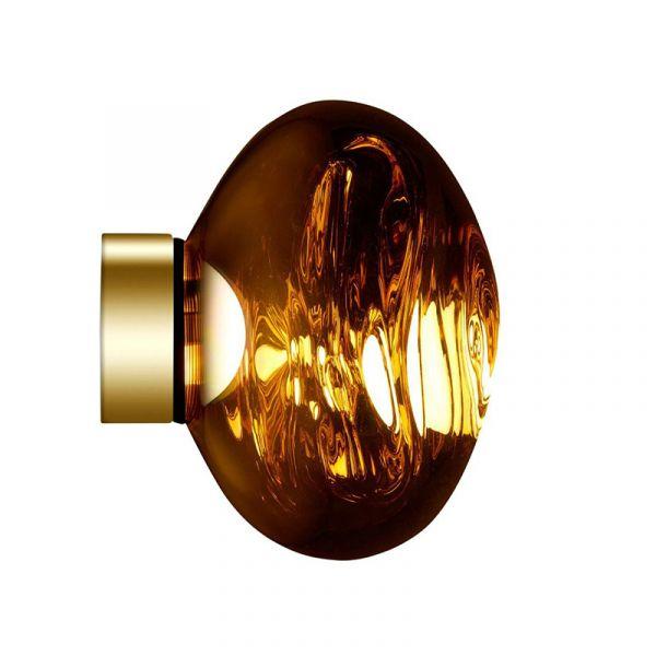 Tom Dixon Melt Mini LED Surface Light Gold