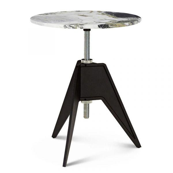 Tom Dixon Screw Cafe Table 60cm Primavera Marble Top