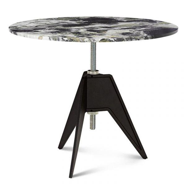 Tom Dixon Screw Cafe Table 90cm Primavera Marble Top