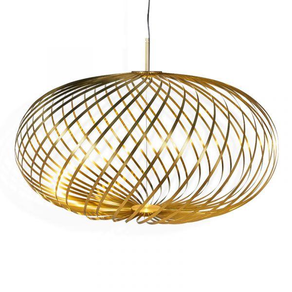 Tom Dixon Spring Pendant Light Brass Medium
