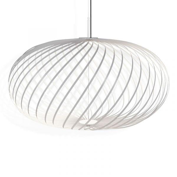 Tom Dixon Spring Pendant Light White Medium