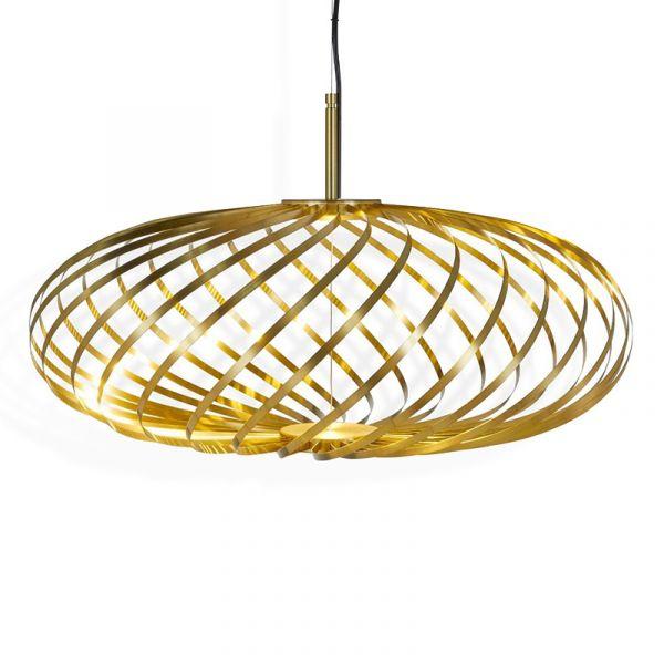 Tom Dixon Spring Pendant Light Brass Small