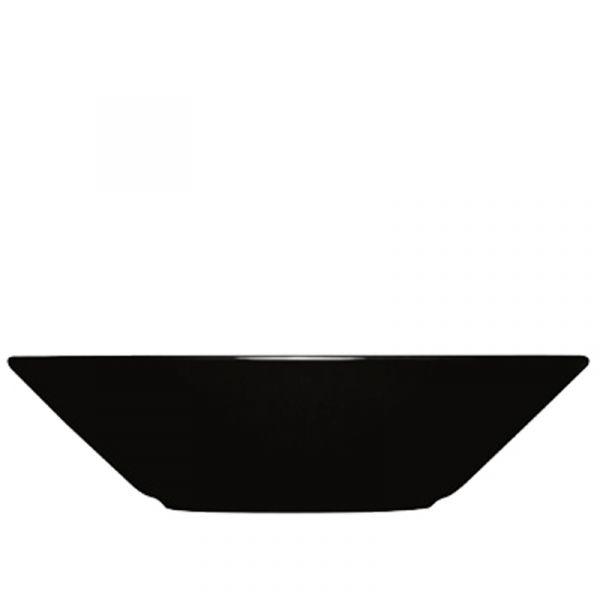 iittala Teema Deep Plate x6 Black 21cm