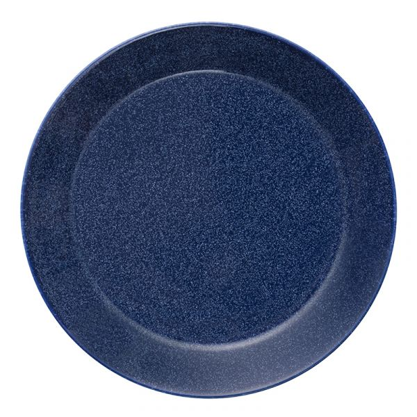 iittala Teema Plate Dotted Blue 17cm Discontinued