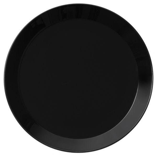 iittala Teema Plate x6 Black 21cm