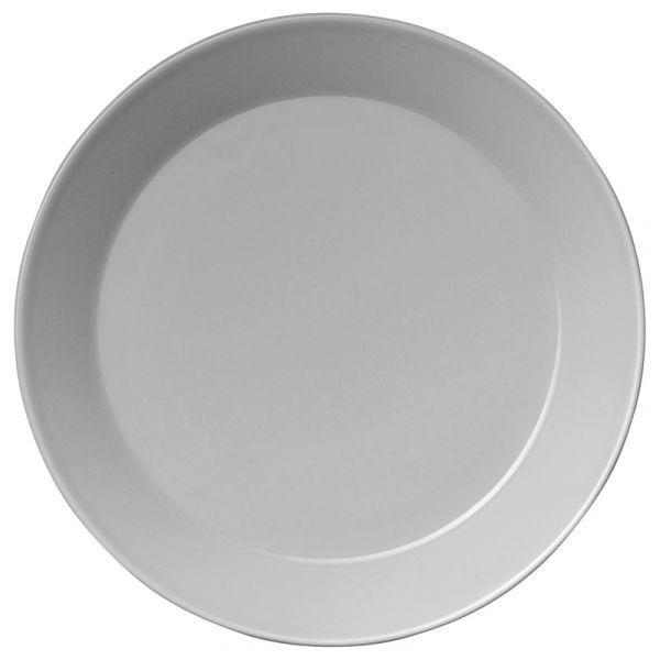 iittala Teema Plate x6 Pearl Grey 21cm
