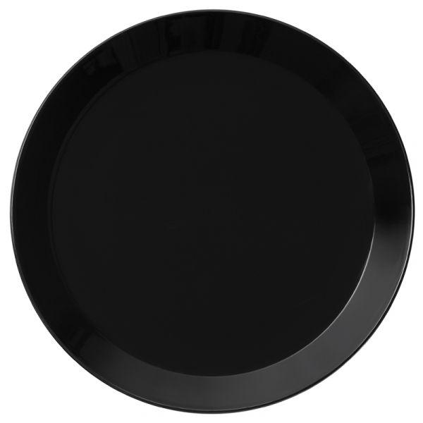 iittala Teema Plate Black 26cm Set of 6