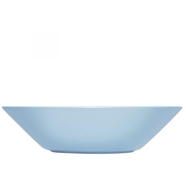 iittala Teema Deep Plate Light Blue 21cm Discontinued