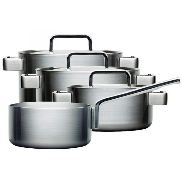 Iittala Dahlstrom Tools 4-Set - 2, 3 and 4 l casseroles and 2 l saucepan Set
