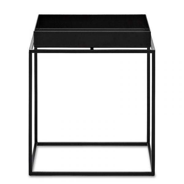 Hay Tray Table Small Square W30xD30xH34cm Black