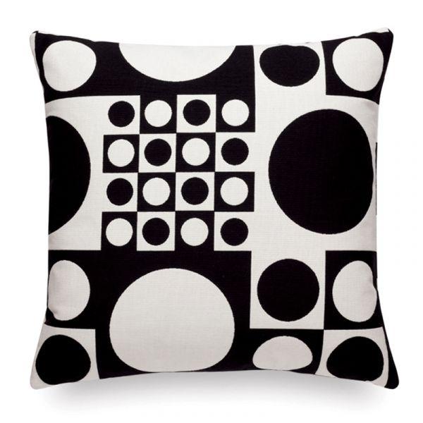 Vitra Classic Cushion Maharam Geometric Black/White