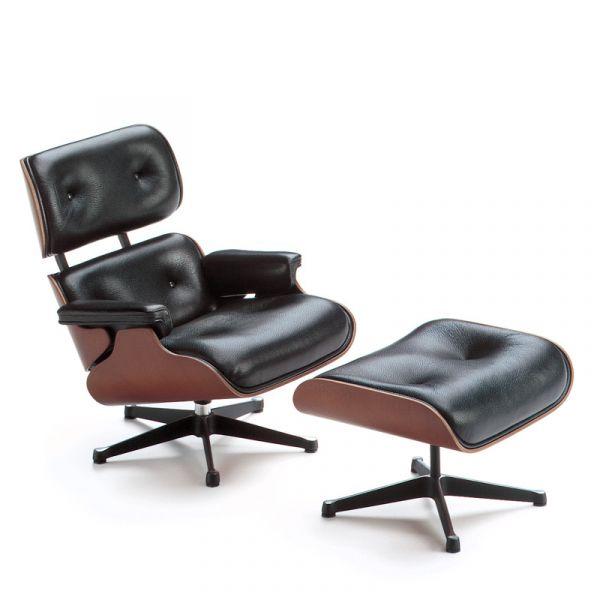 Vitra Miniature Lounge Chair & Ottoman Miniature Collection