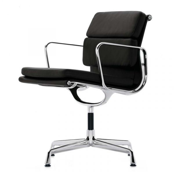 Vitra Eames EA 208 Soft Pad Chair Classic Height
