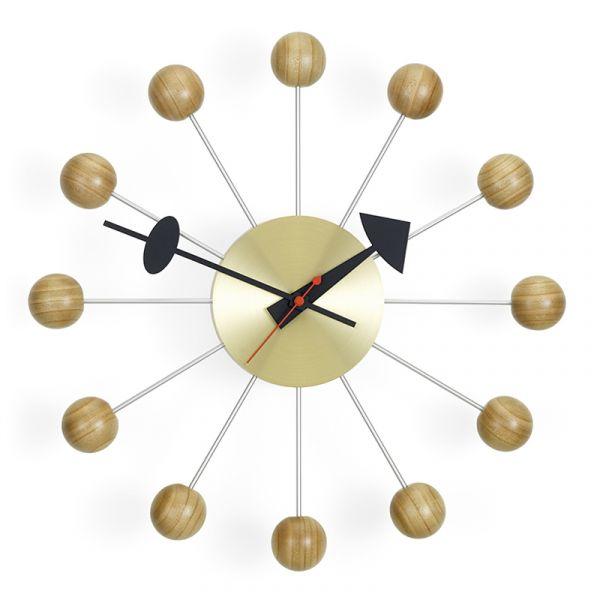 Vitra Ball Wall Clock Cherry